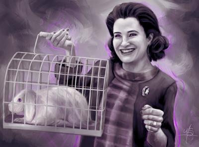 Agatha All Along wandavision marvel digital art pop culture digital painting photoshop procreate portrait illustration
