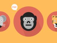 Free Animals Icons