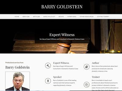 Barry Goldstein - Website ux joomla website design web design