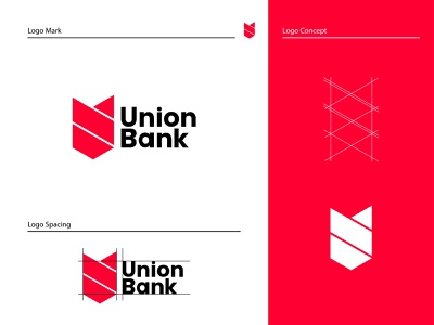 Union bank logo . Bank logo . abstract logo logotype icon app logo modern logo corporate abstract creative company business recent logo custom brand identity brand logo design logoidea logo