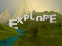 Explore Low Poly