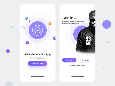 Design artists IOS UI product agency branding design animation uidesign ui ux ui design app debut 2019 artists best design aribro aribro.com vector