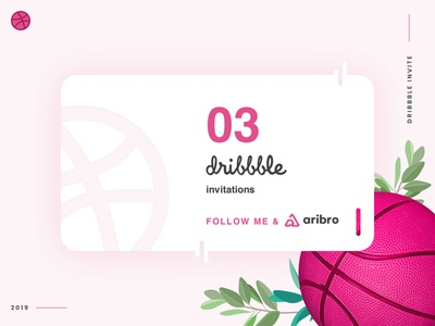 3 Dribbble Invites Giveaway