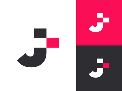 [ARIBRO] - J + T LOGO Design agency logo designer agency branding morocco graphic fes design aribro ui agency aribro.com
