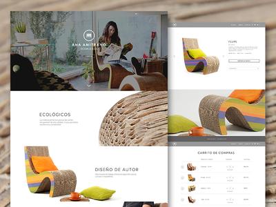 Ana Amitrano Website
