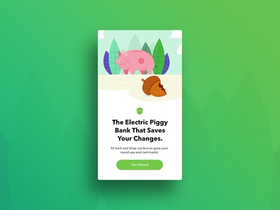 Illustration - Acorns Banner