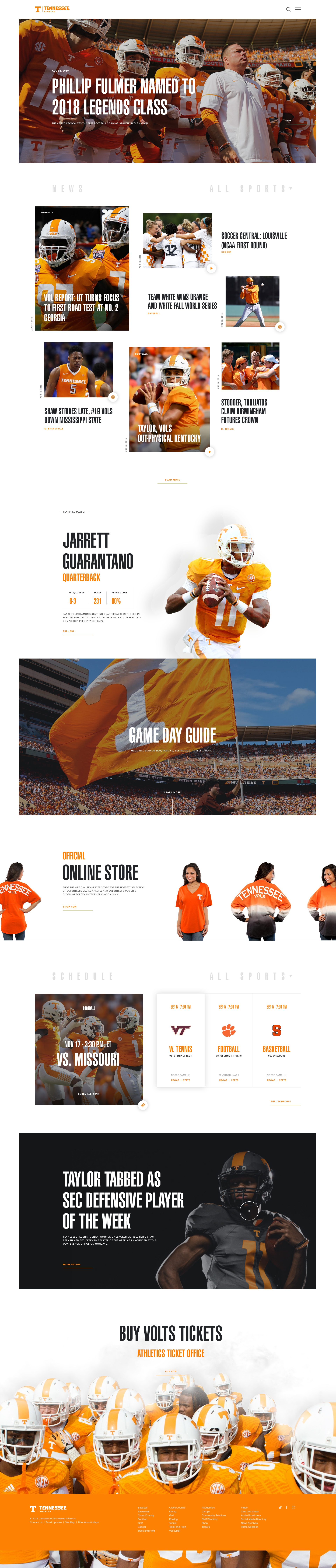 Tennesse   homepage