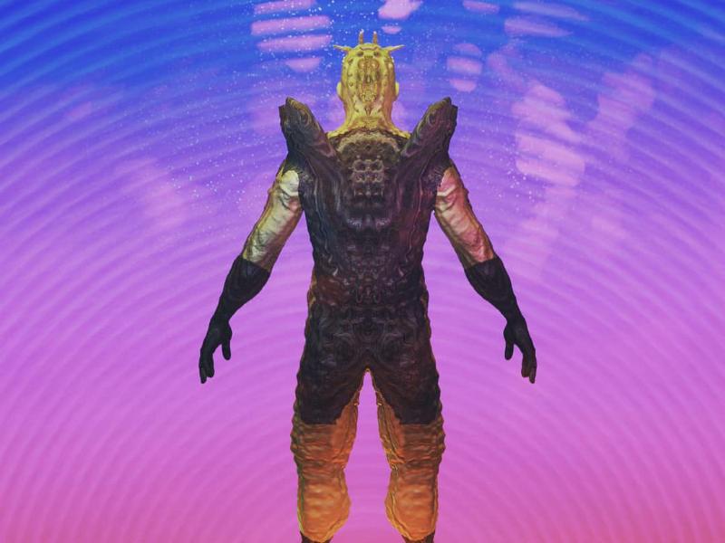 The Rock blender cgi creature
