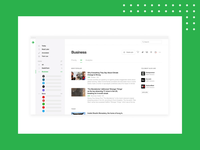 Feedly Sources animation animation motion ui sources news feed feedly rss website