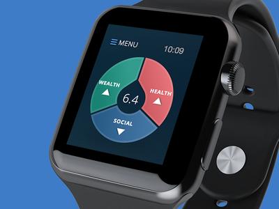 Nudge Apple Watch app