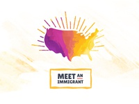 Meet an Immigrant Logo
