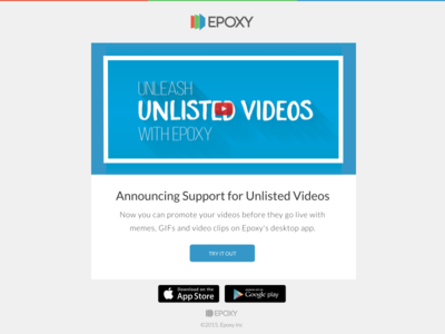 Unleash Unlisted Videos with Epoxy