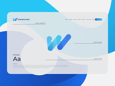 W Letter Logo - W Modern Letter Logo Mark letter logo design abstract logo maker creative logo logo designer company logo modern logo app logo logo design w modern letter logo