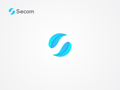 Secom Logo Design, S Modern Logo Mark. s logo app icon word mark letter typography minimalistic design abstract clean flat modern professional brand identity minimalist logo minimal simple branding tech branding 2020 2021 top 5 colorful creative popular dribbble shots logo logo designer