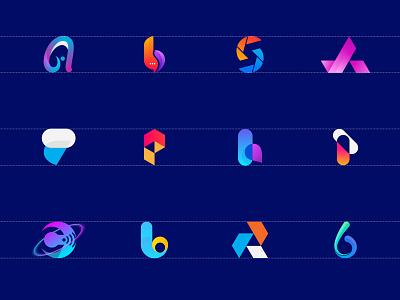 Modern Letter Logo Collection 2021. modern logo app icon logo word mark letter typography minimalistic design abstract clean flat modern professional minimalist logo minimal simple brand identity branding tech 2020 2021 top 5 colorful creative popular dribbble shots logo logo designer