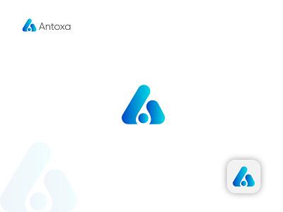 A Modern Letter Logo Design. brand identity logo presentation a logo branding graphic design illustration abstract creative logo logo design logo modern logo app logo logo designer