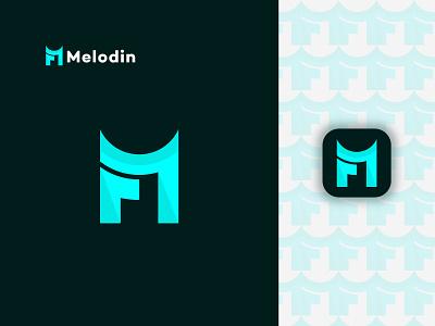 Modern M Letter Logo Design. branding graphic design design creative logo abstract logo design logo modern logo app logo logo designer