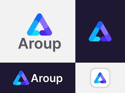 A + Arrow Logo Design Concept. branding graphic design ui illustration design creative logo abstract logo design modern logo app logo logo designer logo