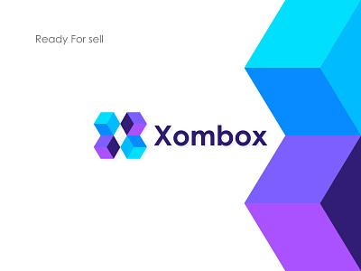 Xombox Logo Design, X Modern Logo Mark creative logo abstract logo design modern logo app logo logo designer tech logo x logo graphic design logo identity logotype illustration branding monogram mark design typography icon best logo designer