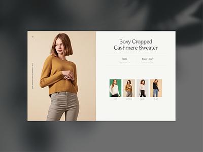 Lookbook Design branding layout template typography flat fashion ui minimal ecommerce lookbook