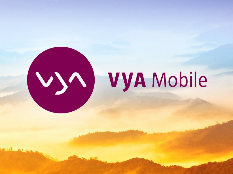 Logo + Corporate Design for VYA logo corporate design mobile telecommunication