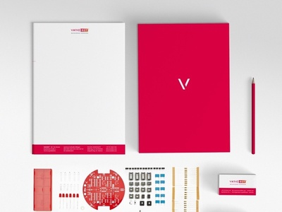 Corporate Design for VARIOBOT corporate design redesign cards graphics