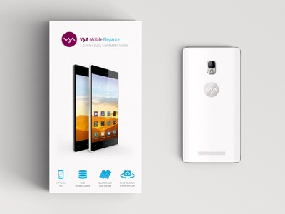 VYA Mobile Elegance, Packaging & Product Design product design corporate design package design