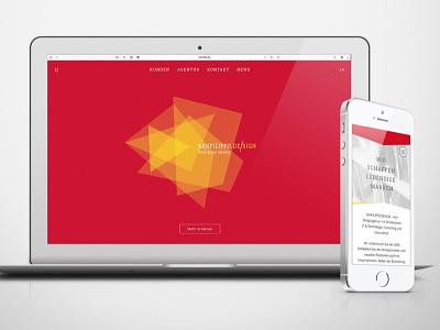 New own Website online designer germany portfolio webdesign agency website