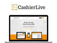 CashierLive Homepage Redesign