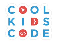 Cool Kids Code Sticker