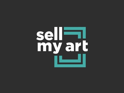 Sell My Art - logo branding logo artists art art broker art sales