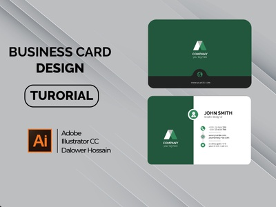 How to Create Business Card in Illustrator CC background art design tool tutorial video youtube business card graphicdesign graphic design design brand business card visitingcard business businesscard vector illustration