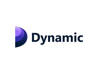 Dynamic Logo Design aplications logodesigner logotype project typography vector branding logo design