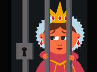 Get the Queen out of stretch goal prison