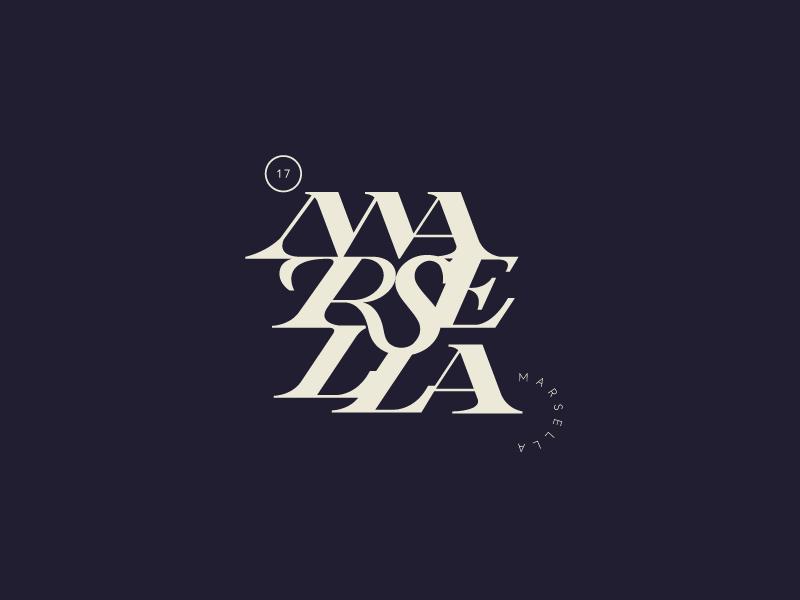 Marsella | v1 17 music madrid brand band logo tipografia typography lettering marsella