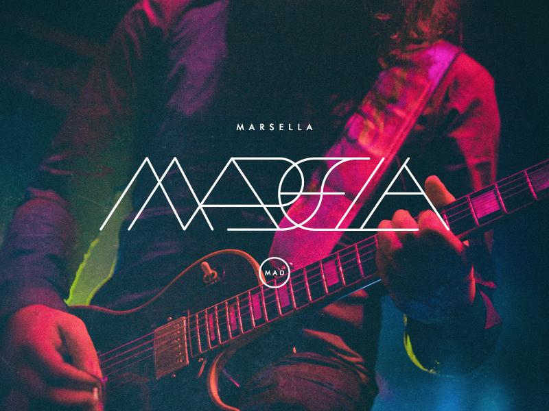 Marsella | v2 17 music madrid brand band logo tipografia typography lettering marsella