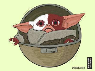 Baby Yoda x Gremlins