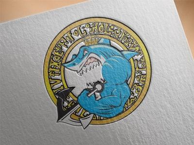 Mascot Muscle Shark Anchor