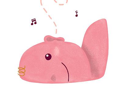 Babies Hearing sound hearing editorial baby digital illustration