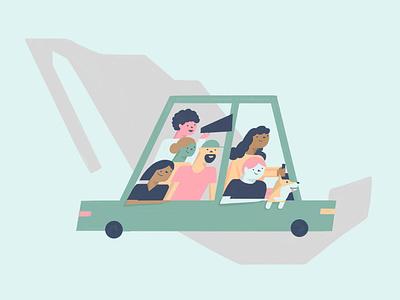 Ruta de la Libertad 1 mexico travel students poster digitalart characterdesign character digital illustration