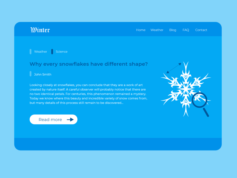 Press page snowflake webdesign website uiux dailyui daily ui ui daily 100 challenge ui design design