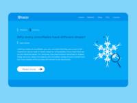 Press page snowflake webdesign website uiux dailyui daily ui ui daily 100 challenge ui design design