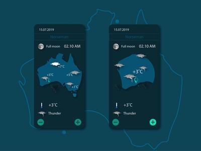 Weather weather screens daily ui dailyui ux illustration uiux daily 100 challenge ui ui design design