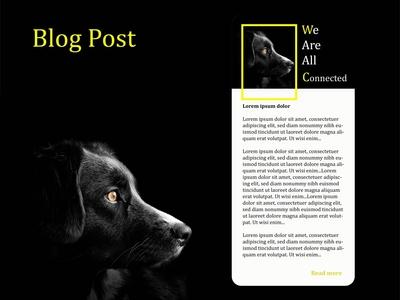 Blog Post 35 035 blog post blog app dailyui daily ui illustration screens uiux daily 100 challenge ui design ui design