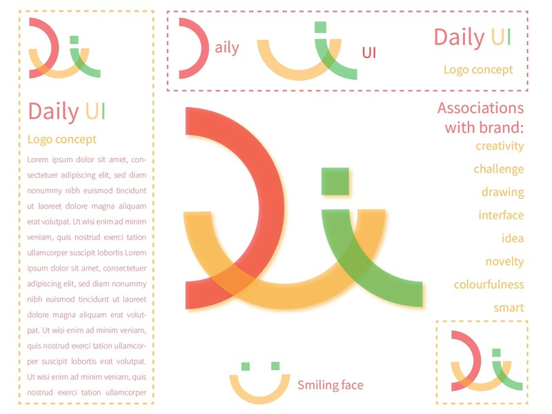 Logo Daily UI smile 52 052 logo daily ui dailyui illustration uiux screens daily 100 challenge ui design ui design