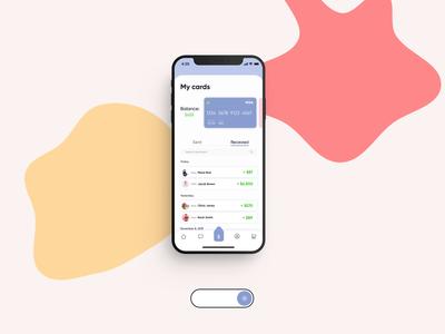 Banking App • Light / Dark Mode 💡🌌