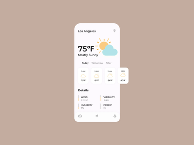 Weather Forecast App ☀️🌤☁️