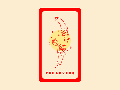 the lovers tarot card the lovers inktober hands tarot design lovers tarot tarot card illustration