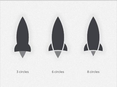 Rockets vs Circles rocket