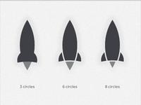 Rockets vs Circles